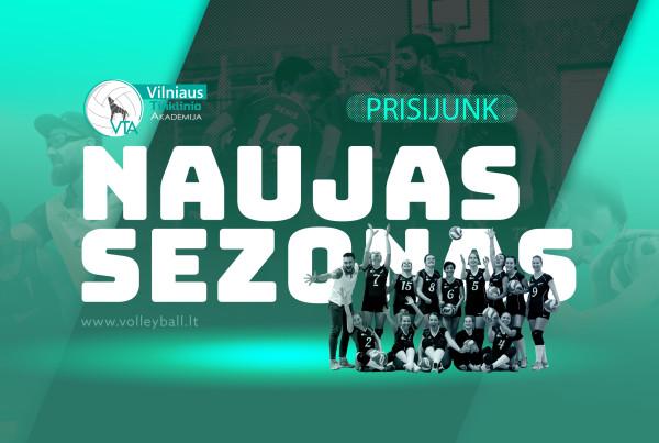 NAUJAS SEZONAS VTA 21 - 22