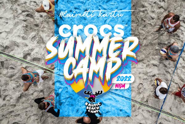 CROCS summer camp 2022 - Tinklinio stovykla Nidoje